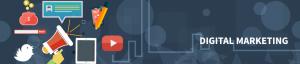 header astratto con logo digital banzai