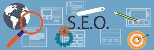 ottimizzazione siti per motori di ricerca (SEO)- illustrazioni simboliche