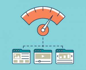 simbolo misuratore di ottimizzazione seo degli elementi multimediali